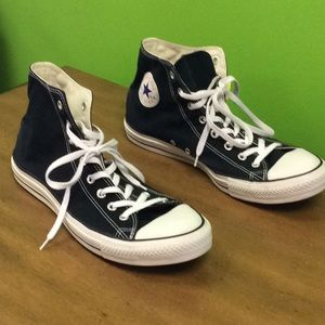48fa475228dfd2 Converse Shoes - Converse Size 14 Men s Black PREOWNED Women s 16